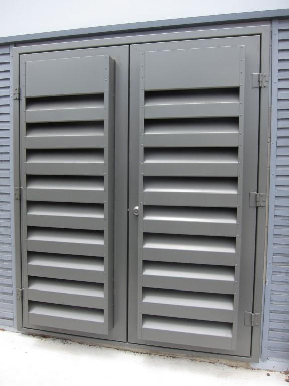 Industrial Metal Amp Acoustic Doors Acran
